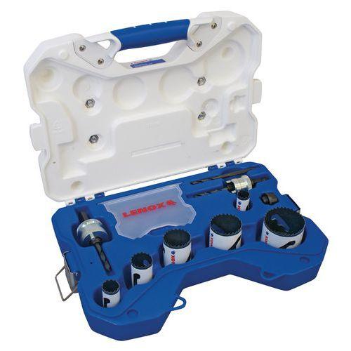 Kit Scie trépan bi-métal plombier - 10 pièces