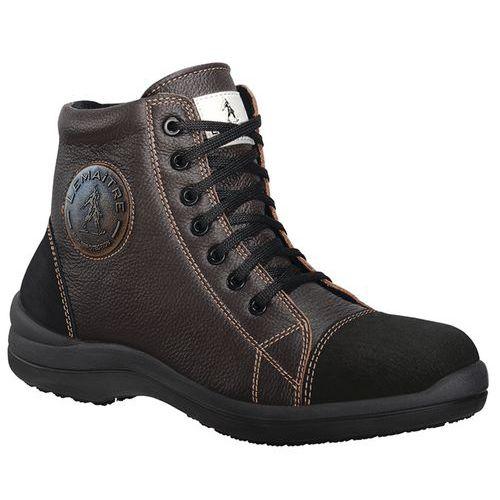 Chaussures de sécurité hautes Liberty S3 SRC Chocolat