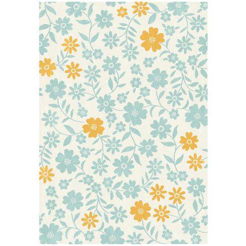 Tapis fleurs 120x170 cm