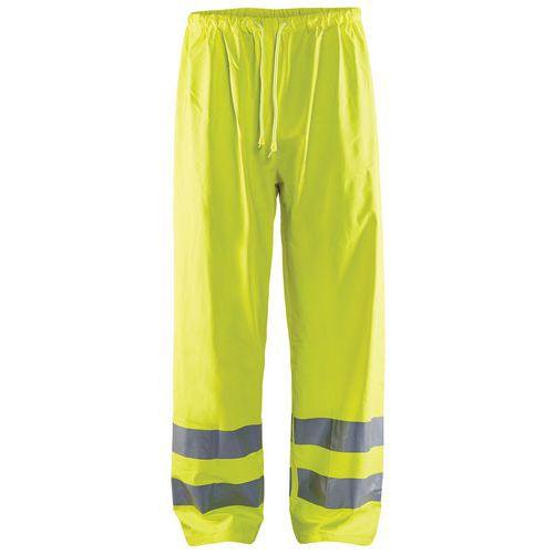 Pantalon de pluie haute visibilité niveau 1 fluorescent