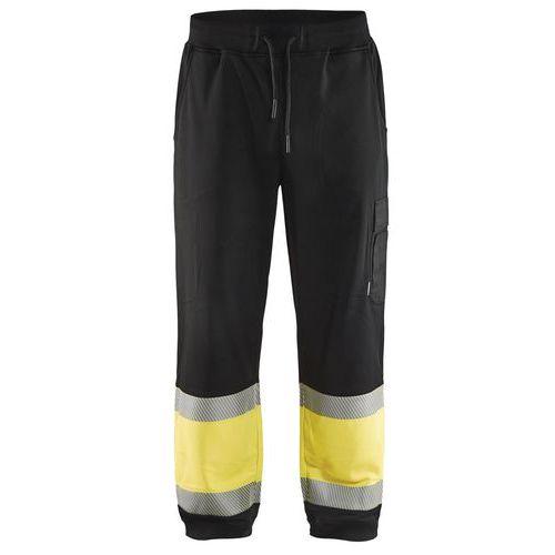 Jogging haute visibilité noir/jaune fluorescent
