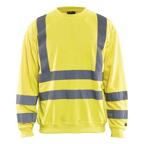 Sweat haute visibilité jaune fluorescent