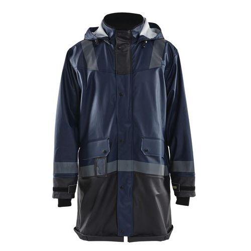 Manteau de pluie niveau 2 marine foncé/noir