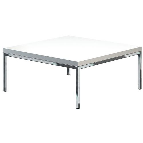 Table basse finition blanc Astro