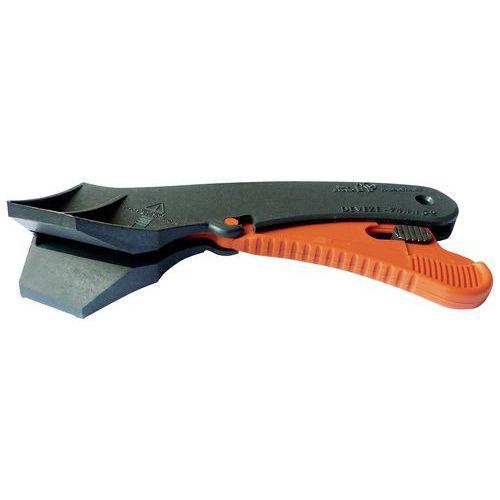 Couteau de sécurité Deveze avec lame à bout arrondi