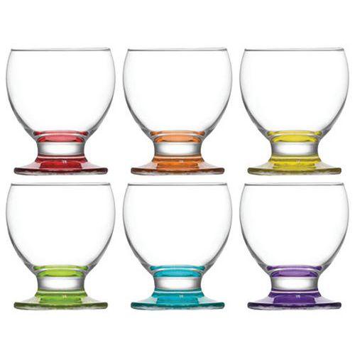 Lot de 6 verres à pieds 21 cl - Teo-Cosy & Trendy