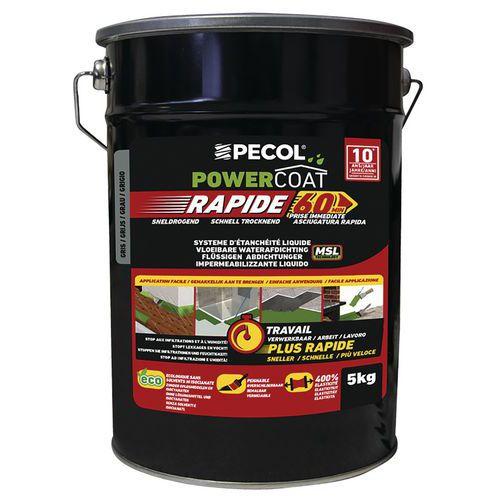 Imperméabilisant liquide - Powercoat rapid - 5 Kg - Pecol