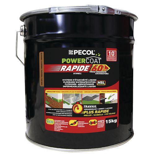 Imperméabilisant liquide - Powercoat rapid - 15 Kg - Pecol