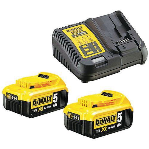 Pack 2 batteries XR - Dewalt
