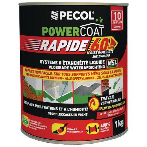 Imperméabilisant liquide - Powercoat rapid - 1 Kg - Pecol