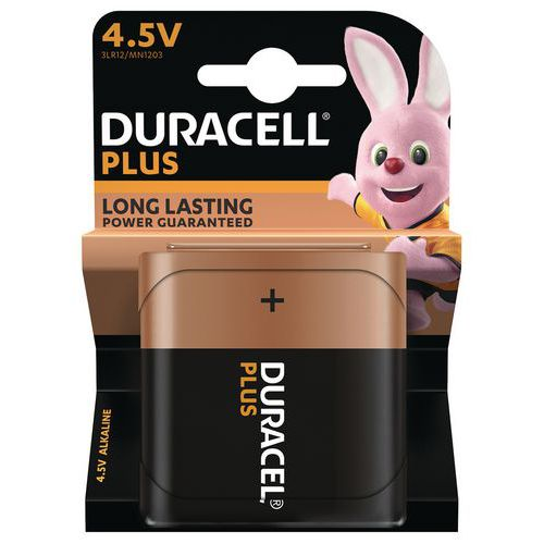 Pile Alcaline Plus Power 4,5V 3LR12 - Duracell