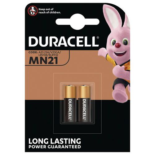 Pile alcaline MN21 V23GA - Pack de 2 - Duracell