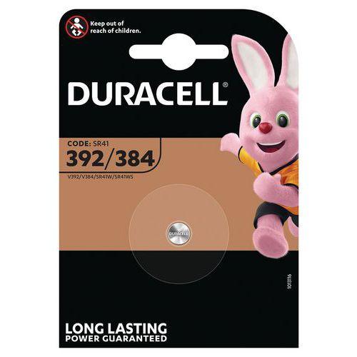 Pile Oxyde d'argent 392/384 SR41 - Duracell