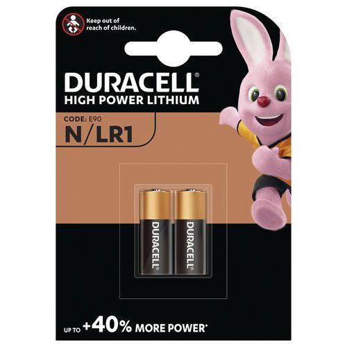 Pile alcaline N LR1 - Pack de 2 - Duracell