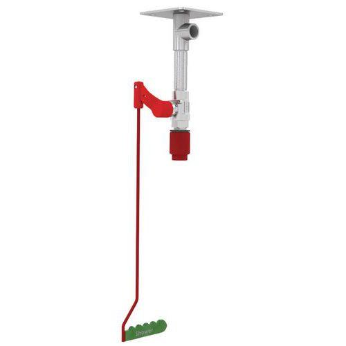 Douche de sécurité fixation plafond non chauffée - Pour intérieur - Hughes