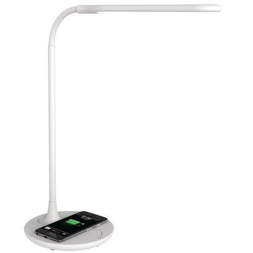 Lampe de bureau LED - Chargement smartphone - Manutan