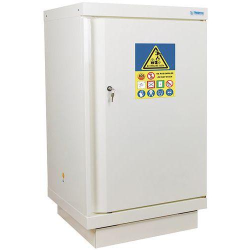 Armoire de sécurité pour le stockage de batteries au lithium - Nue à équiper - Trionyx
