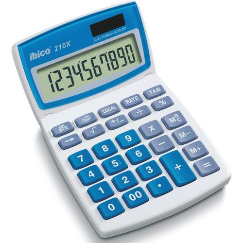 Calculatrice de bureau - 210X - Ibico