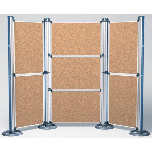 Panneaux en liège pour Stand d´exposition Modular format A0