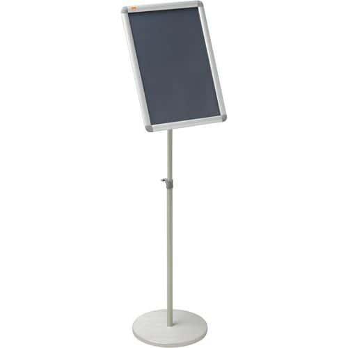 Stand d'exposition pouir porte-affiche clipsable Nobo Format A3
