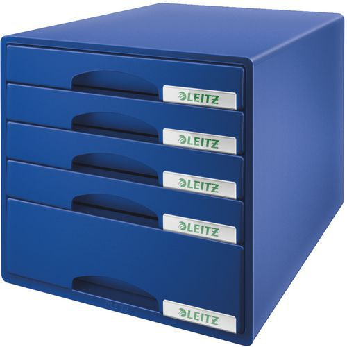 Bloc de classement Leitz Plus 5 tiroirs