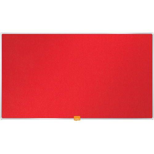 Tableau d'affichage en feutre Nobo Widescreen 32 vert