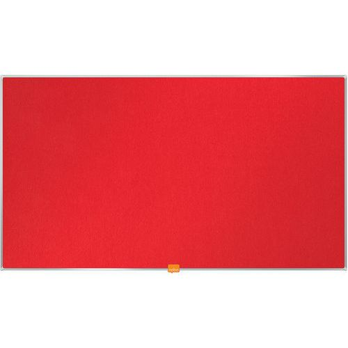 Tableau d'affichage en feutre Nobo Widescreen 40 vert