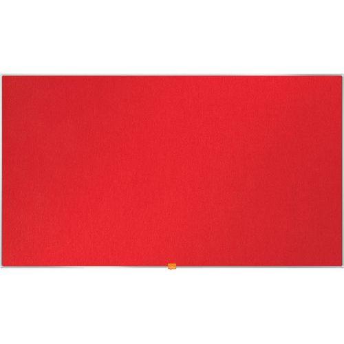 Tableau d'affichage en feutre Nobo Widescreen 55 vert