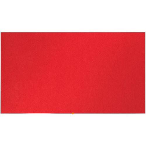 Tableau d'affichage en feutre Nobo Widescreen 85 vert
