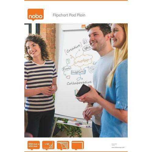Bloc papier Nobo Uni 650X955 50 feuilles
