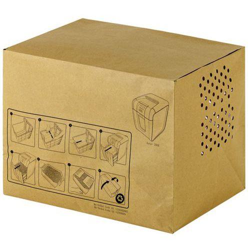 Sacs-poubelle en papier recyclé 40L Auto+ Rexel