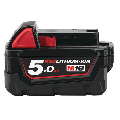 Batteries 18 Volts 5,0Ah Red Lithium - Milwaukee