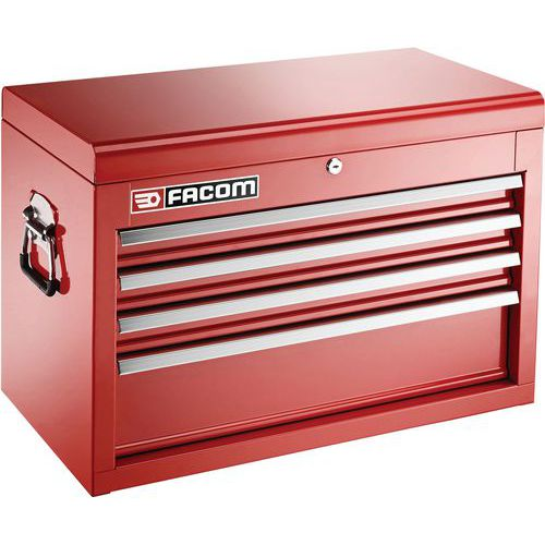 Coffre métallique 4 tiroirs
