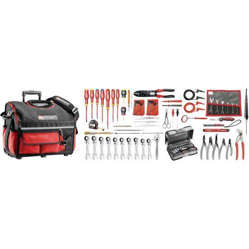 Sélection électricien 101 outils - boîte à outils textile