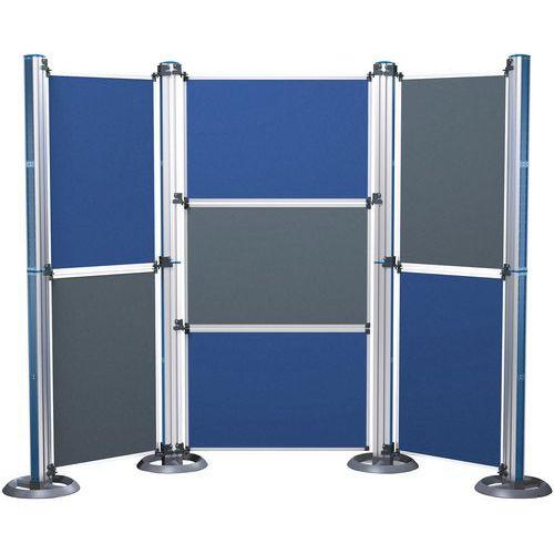 Panneaux en feutre pour Stand d´exposition Modular format A0