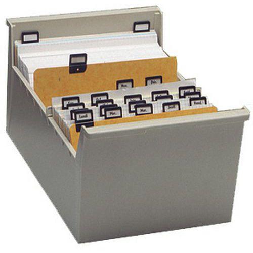 Boîtes à fiches A5 et A6