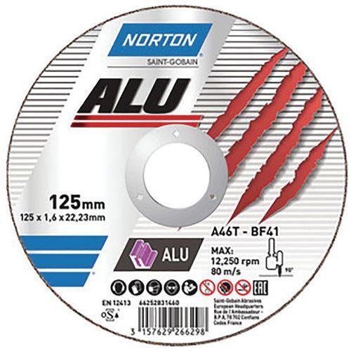 Disque de tronçonnage plate - Norton