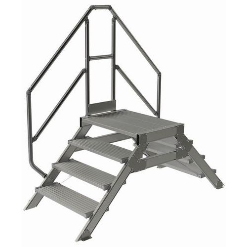 Passerelle fixe inclinaison 45° - Largeur 800 mm - Tubesca
