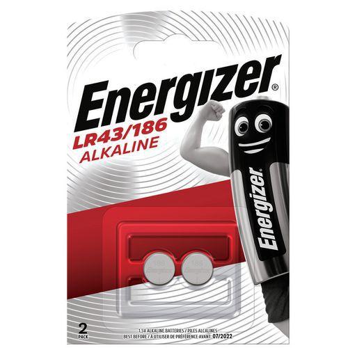 Pile bouton alcaline LR43 - Energizer