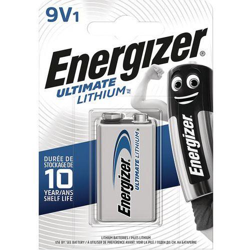 Pile Lithium Ultimate - LR61 - 9 V - Energizer