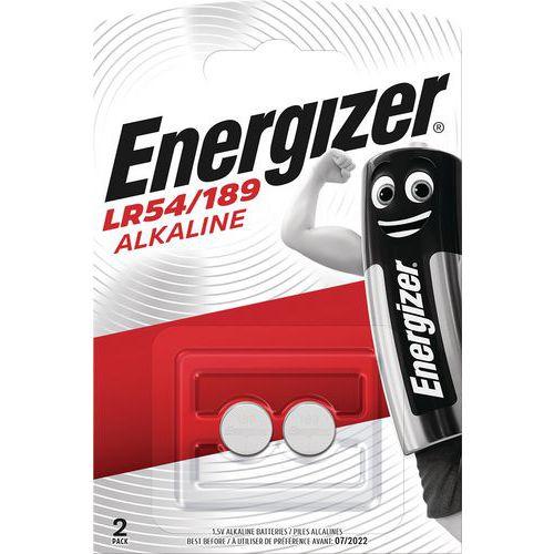 Pile alcaline pour calculatrice, montre et multifonction - LR54 - Lot de 2 - Energizer
