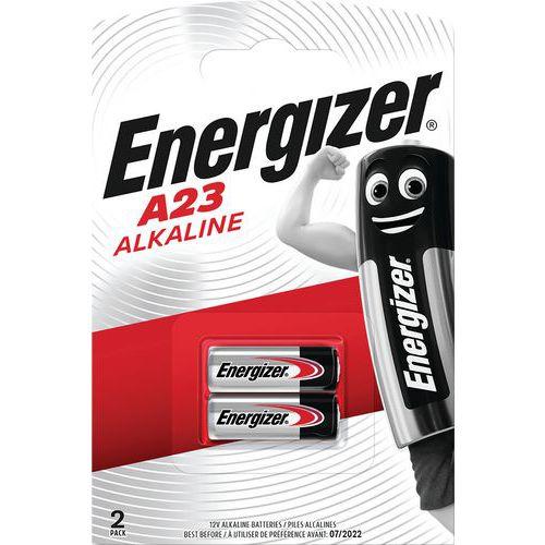 Pile alcaline pour calculatrice, montre et multifonction - MN21/A23 - Lot de 2 - Energizer