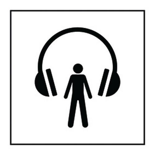 Pictogramme audioguide en Vinyle