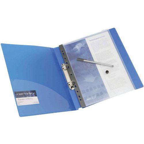 Pochette à document avec perforation A4 transparent