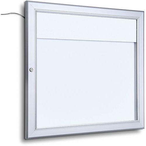 Menu vitrine  verrouillable LED