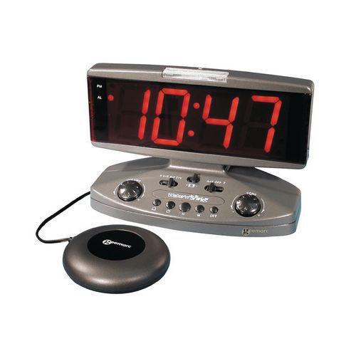 Réveil vibreur et amplificateur de sonnerie