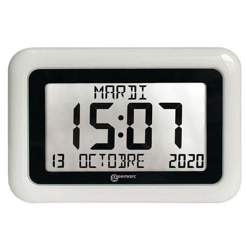 Horloge grand affichage blanc