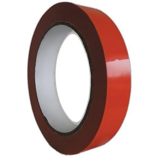 Adhésif PVC Rouge 12 mm X 66 m