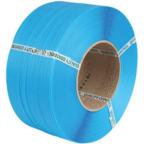 Feuillard PP machine 12 X 0,63 mm D200 3000 m Bleu