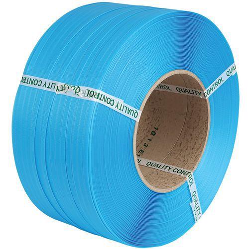 Feuillard PP machine 12 X 0,75 mm D280 1800 m Bleu